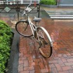 自転車カバーは100均のセリアやダイソーでOK!手作りの型紙や防水スプレー&飛ばない方法